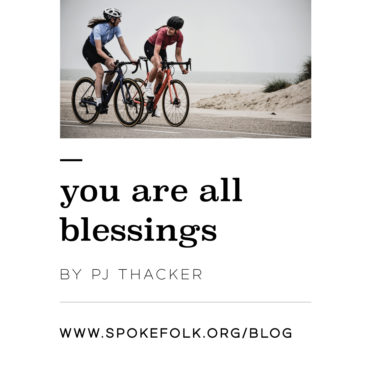You are all Blessings by PJ Thacker